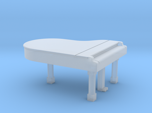 N Scale Grand Piano (Closed) in Smooth Fine Detail Plastic