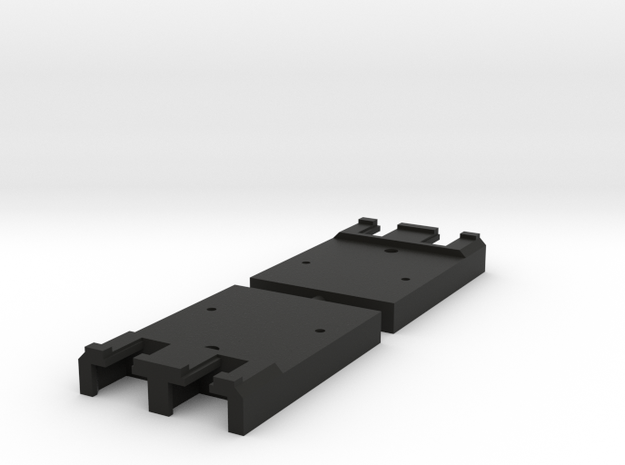 "Unijoiner adapter for Peco 009 track ""inlay"" in Black Strong & Flexible"