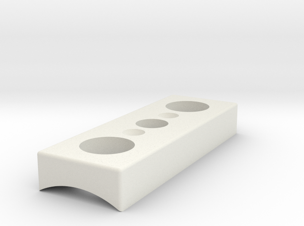 "Activation Box 1.45""  in White Natural Versatile Plastic"