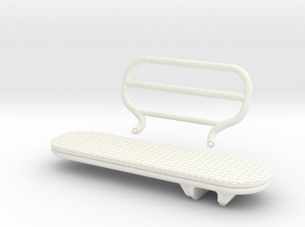 1.4 LAMA BIG STEP FULL KIT in White Processed Versatile Plastic