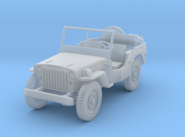 Jeep-scale1:64 in Smooth Fine Detail Plastic
