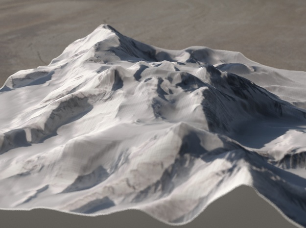 Vinson Highlands, Antarctica, 1:100000 Explorer in Full Color Sandstone