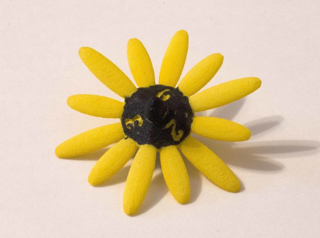 Daisy D6 in Yellow Strong & Flexible Polished