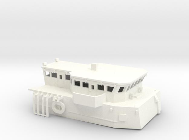 Superstructure 1:144 scale in White Processed Versatile Plastic
