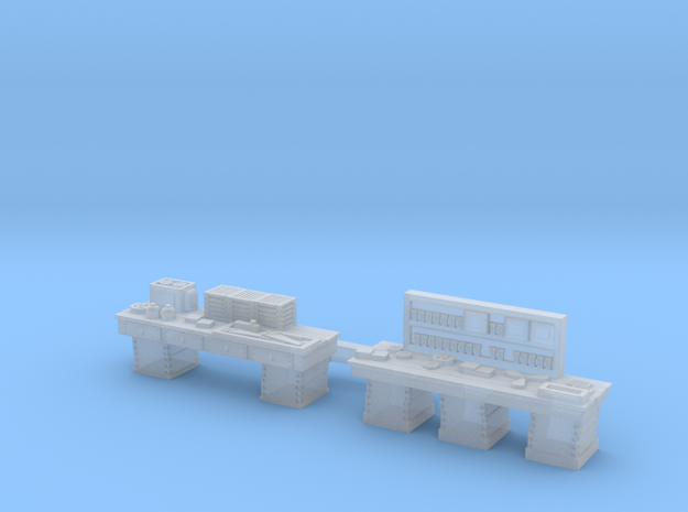 Workshop WORKBENCHES, 2 Pack N Scale Set in Smooth Fine Detail Plastic