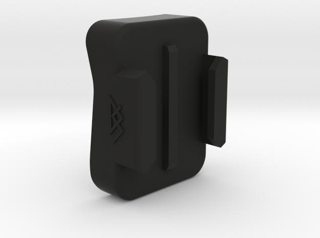 GoPro Chin Mount - SHOEI RF-1200 in Black Natural Versatile Plastic