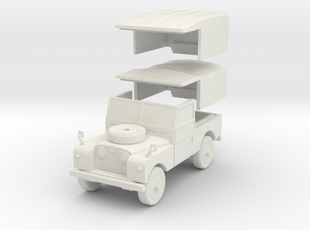 LandRoverS1 88 1 30 in White Natural Versatile Plastic