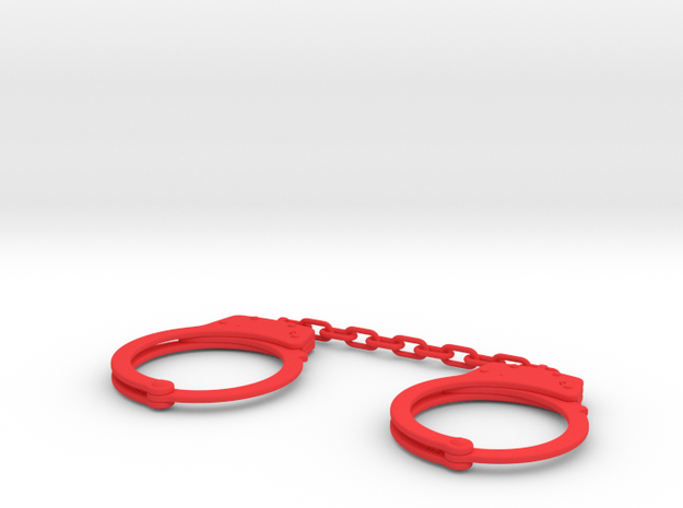 Fcuff Size 10-12 Chain in Red Strong & Flexible Polished