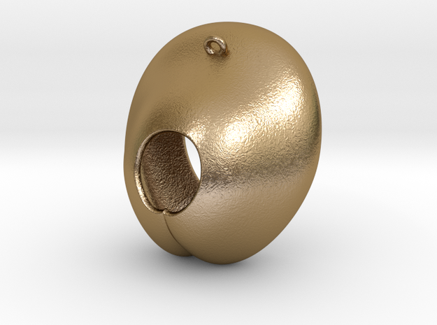 Electrode Customized 02 in Polished Gold Steel