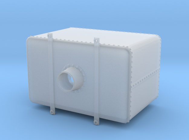 1:48 Rectangular Water Tank w/ Hatch in Smooth Fine Detail Plastic: 1:48 - O