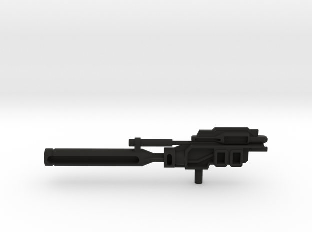 Powermaster Optimus Prime leader class Canon in Black Natural Versatile Plastic