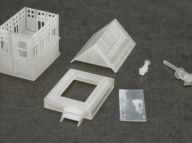 CPR John Street Gatehouse - HO Scale (1/87) 3d printed Parts included in Print