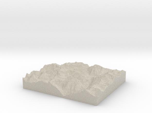 Model of Corni di Nefelgiù in Natural Sandstone