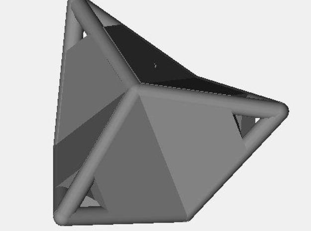 d12 caltrop blank 3d printed Description