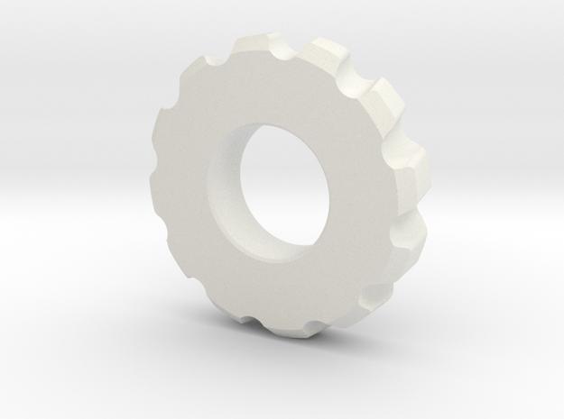 Gear Spinner in White Strong & Flexible