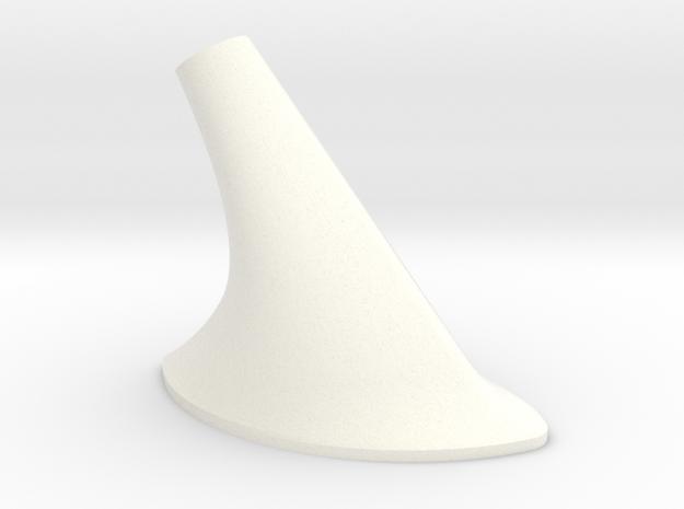 1.6 Antenne Sup in White Processed Versatile Plastic