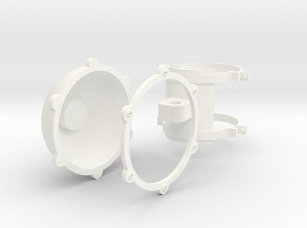 1.6 SKID LIGHT EC135 in White Processed Versatile Plastic
