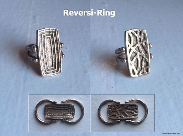Reversi-Ring 3d printed