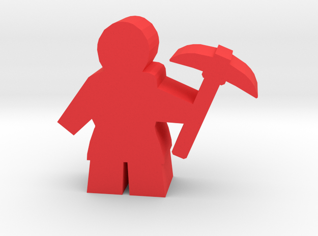 Game Piece, Worker with pickaxe