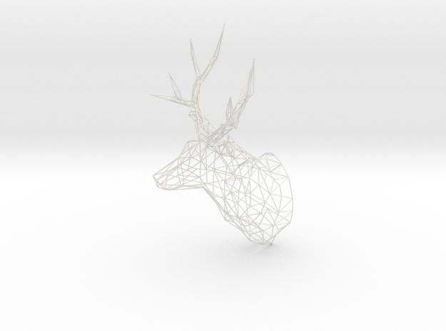 Original XL 3D Printed Stag Deer Polygon Trophy He