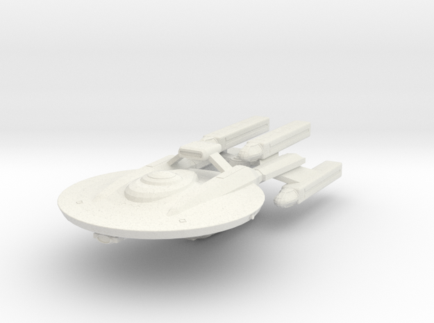 System Fleet NX Battle-Cruiser in White Strong & Flexible