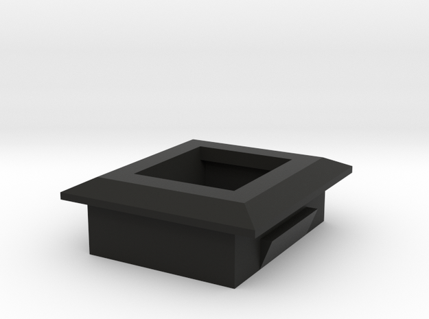 Keystone Holder in Black Natural Versatile Plastic