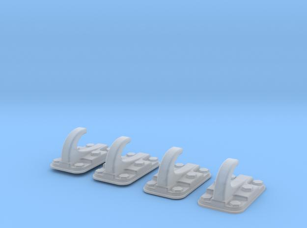 1.10 ERGOT FUSELAGE PUMA in Smooth Fine Detail Plastic