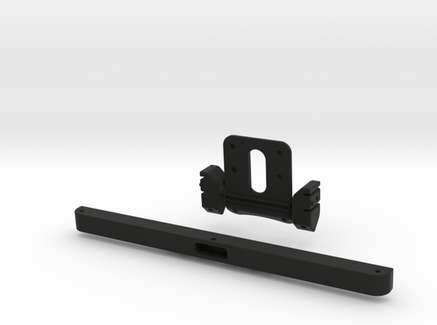 Raffee Land Rover Front Body Mount (SCX10) in Black Strong & Flexible