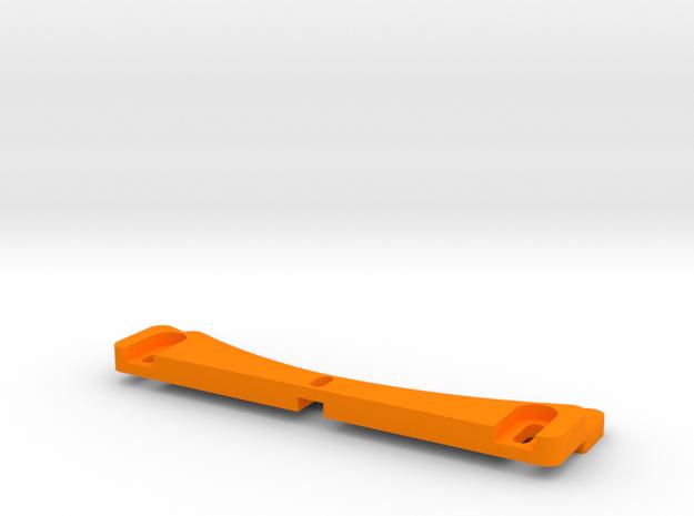 Kossel XL Druckbetthalter 250mm - Ndo Design in Orange Processed Versatile Plastic