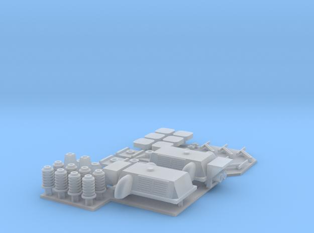 Sr1 pienosasarja ilmastointilaitteilla (H0)