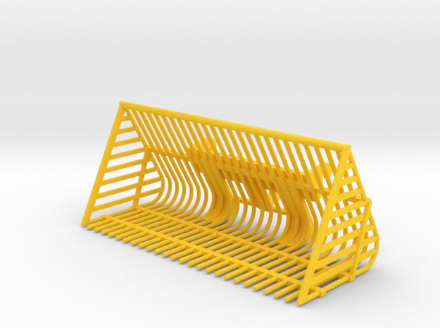 Rübenkorb 2,5m Wiking in Yellow Processed Versatile Plastic