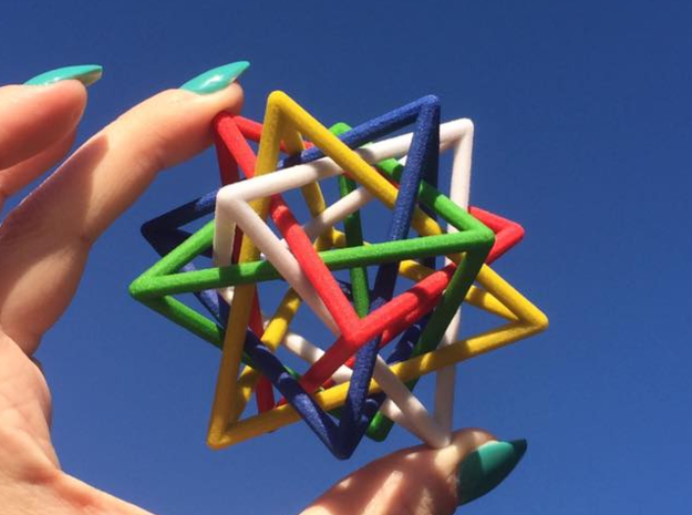 Interlaced Tetrahedrons 3 Inch x 3 Inch
