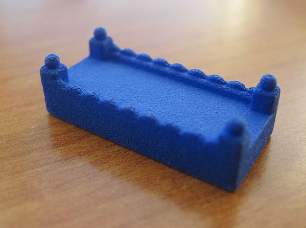 Base Catan Blue Piece Set 3d printed Road token