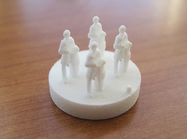 Catan Pieces Knights - White 3d printed Knight #1 token