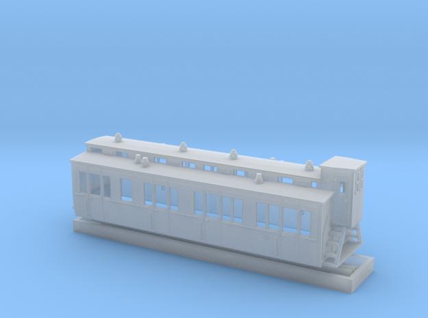 Abteilwagen I.-II. Kl. in Smoothest Fine Detail Plastic