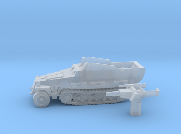 Sd.Kfz 251 vehicle (Germany) 1/200 in Smooth Fine Detail Plastic