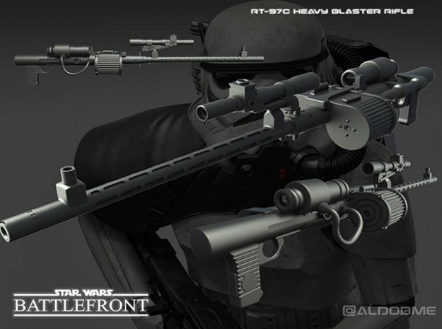 Star Wars RT-97C Heavy Rifle in Black Strong & Flexible