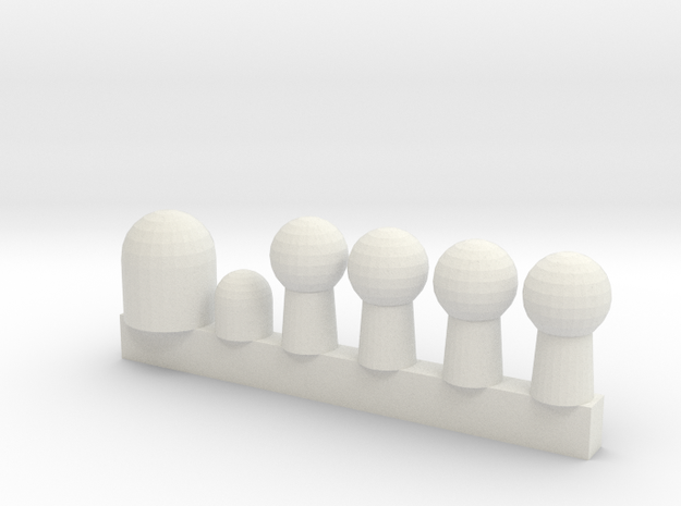 350 in White Natural Versatile Plastic: 1:700