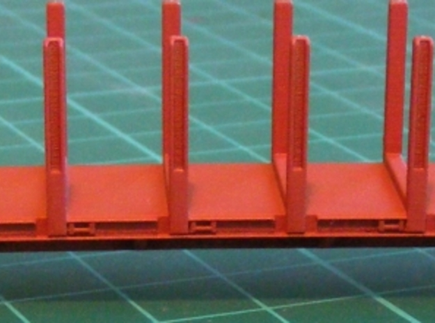 N scale (1:160) VFTY x 4 in Smooth Fine Detail Plastic