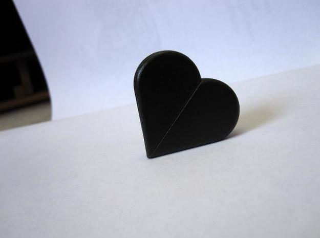Puzzle Heart 3d printed Version 6 - Heart Form