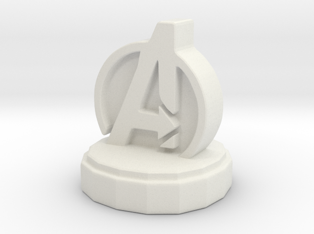 Marvel Pawn in White Natural Versatile Plastic