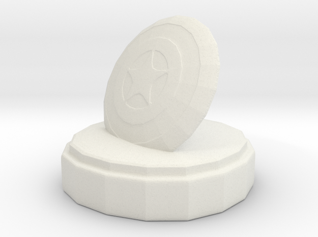 Marvel King in White Natural Versatile Plastic
