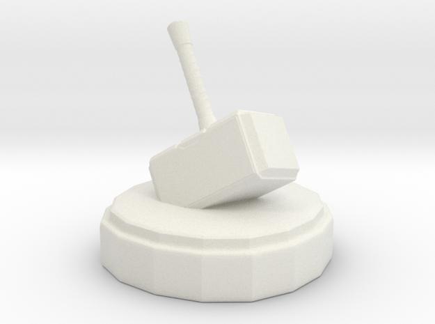 Marvel Knight in White Natural Versatile Plastic