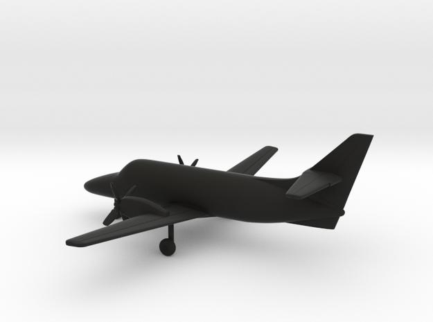 Jetstream 31 v.2 in Black Natural Versatile Plastic: 1:200