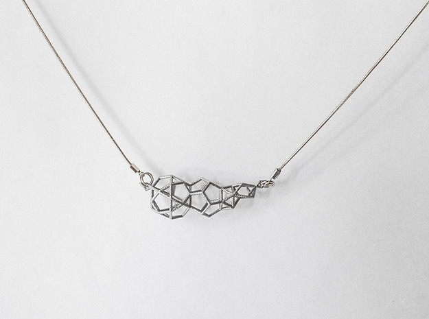Pendant_top_geometry in Polished Nickel Steel
