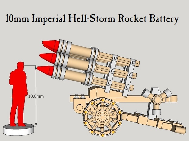 10mm Imperial Hell-Storm Batteries (3pcs) in Frosted Ultra Detail