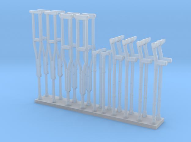 Crutches 01. O Scale (1:48)