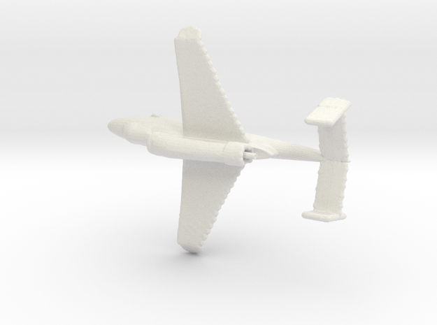 1:285 Heinkel-162 in White Natural Versatile Plastic