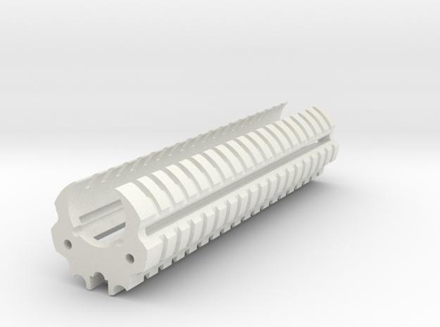 MHS Tac&Batt in White Natural Versatile Plastic