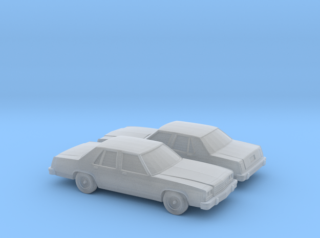 1/160 2X 1989 Ford Crown Victoria